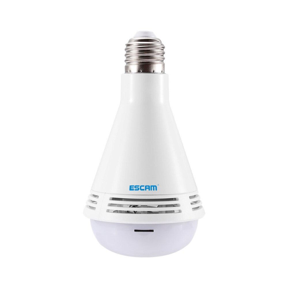 ESCAM QP137 Bulb 2MP HD 1080P 360 Degree Panoramic Bluetooth Speaker IP CameraESCAM QP137 Bulb 2MP HD 1080P 360 Degree Panoramic Bluetooth Speaker IP Camera