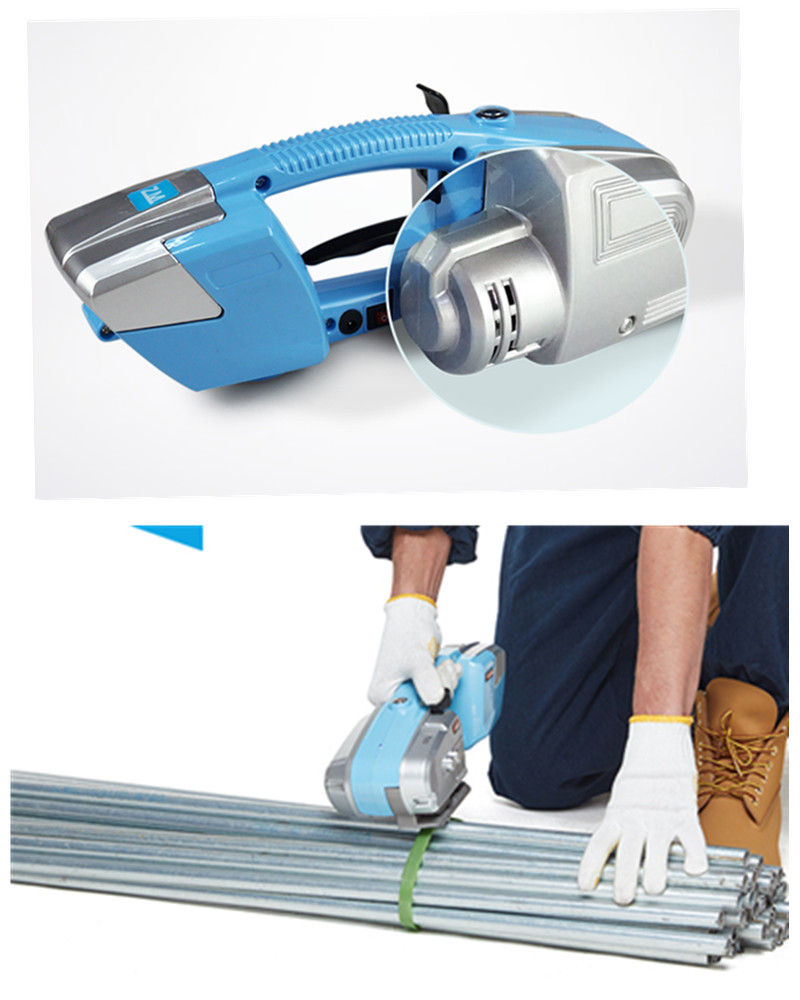 electric hand strapping machine,electric pet strapping tool,hand packing machine for PP PET ,handheld carton strapping machine xqd 19 hand strapping tool plastic strapping tensioner pet band sealless pneumatic strapping machine for 13 19mm tension 3500n