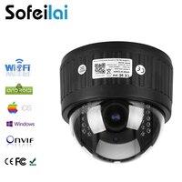 1080P HD Sony WIFI IP Dome IP Camera Wireless 2 8 12mm Optical 4xzoom Len PTZ