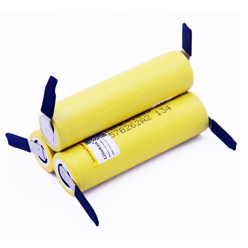 New Original HE4 2500mAh Li-lon Battery 18650 3.7V Power Rechargeable Batteries Max 20A,35A Discharge + Nickel Sheet