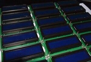 Image 4 - Freies Verschiffen 10PCS LCD1602 1602 modul Blauen bildschirm 16x2 Zeichen LCD Display Modul HD44780 Controller blauen schwarzlicht