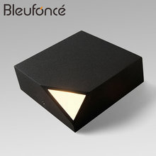 Buy outdoor corner light and get free shipping on aliexpress bleufonce creative simple foot line aisle sconce corridor wall light wall lamp mozeypictures Images