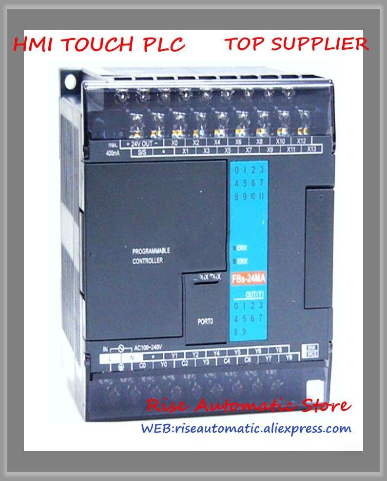 FBs-24MAT2-AC New Original PLC AC220V 14 DI 10 DO transistor Main UnitFBs-24MAT2-AC New Original PLC AC220V 14 DI 10 DO transistor Main Unit