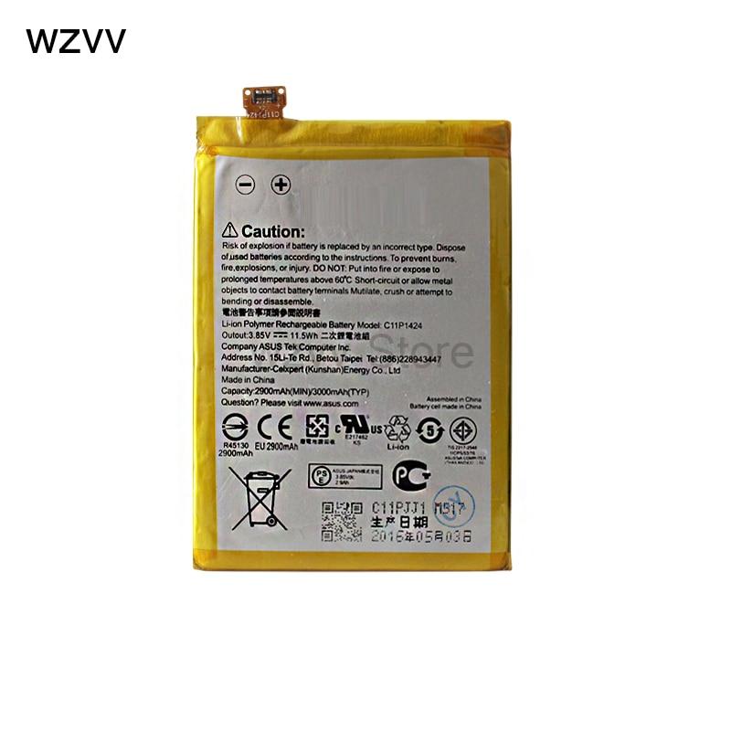 wzvv 3000mah C11P1424 Battery For ASUS Zenfone2 Zenfone 2 ZE550 ML Z008D ZE550ML ZE551ML Z00AD Z00ADB + Tracking Code
