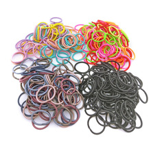 100Pcs/Lot Size 2.2cm Elastic Hair Bands Mini Rubber Band Hair Rope Ponytail Holder for Kids Girl Hair Accessories aikelina 100pcs lot 3cm cute girl ponytail hair holder hair accessories thin elastic rubber band for kids colorful hair ties