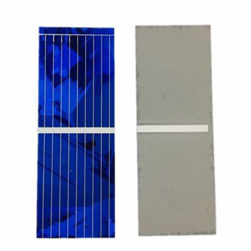 100pcs Solar Panel 0.5V 320mA Fine workmanship Solar Battery Panels Cell DIY Battery Charge 52*19mm For DIY Power Source Module
