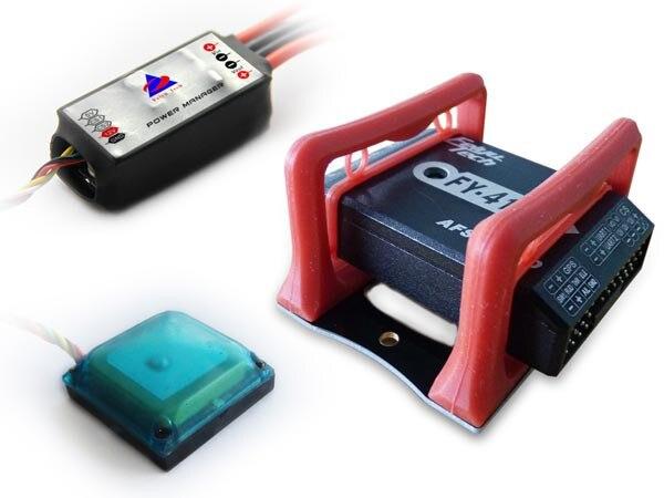 FEIYU FY 41AP-M & GPS Autopilot pour multi-rotors stabilisateur d'attitude inertielle 41AP (le support absorbant les vibrations rouge n'est pas inclus)