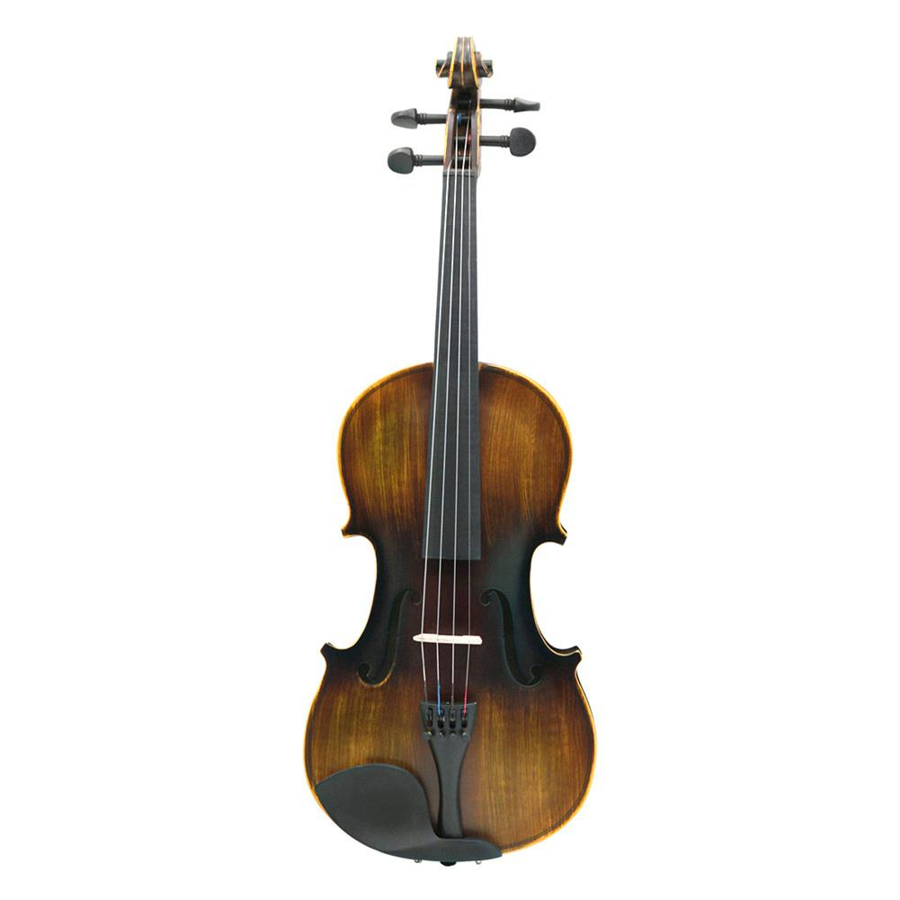 IRIN 4/4 Full Size Solidwood Acoustic Violin Fiddle Violino with Case Rosin Bow Shoulder Rest Strings Instrument for BeiginnerIRIN 4/4 Full Size Solidwood Acoustic Violin Fiddle Violino with Case Rosin Bow Shoulder Rest Strings Instrument for Beiginner