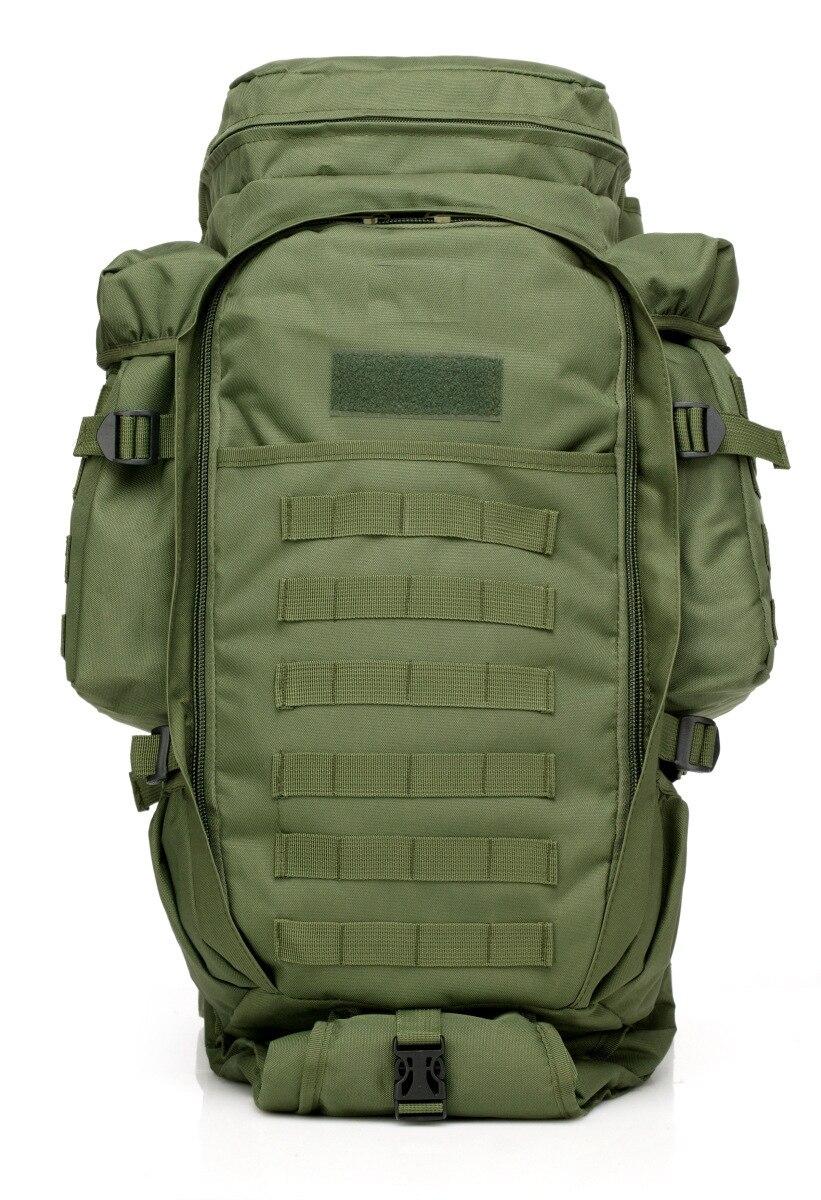 Tactique 50L combiner sac à dos Combat militaire escalade randonnée Trekking multi-fonction paquet Sports de plein air grande capacité sacs