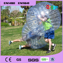 Inflatable human hamster ball,crazy loopy ball for outdoor fun & sports,bumper ball bubble football, loopy ball