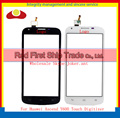 "High Quality 5.0"" For Huawei Ascend Y600 Touch Screen Digitizer Sensor Front Glass Lens Panel Black White+Tracking Code"
