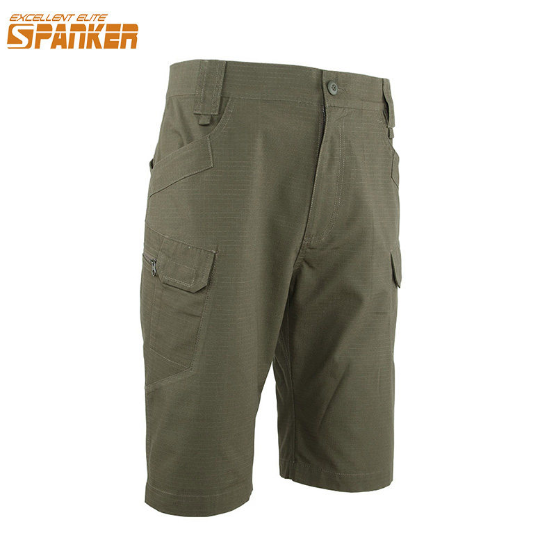 EXCELLENT ELITE SPANKER Outdoor Camouflag Military Cargo Shorts Pant Tactics Summer Male Loose Bermuda Short Pant Beach Pants