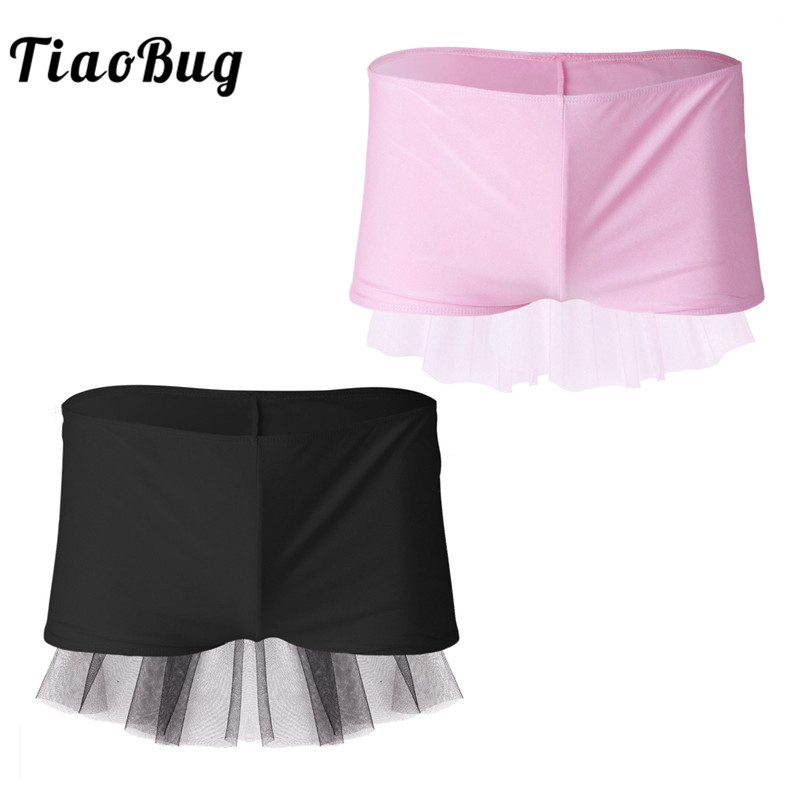 <font><b>TiaoBug</b></font> Fashion Mens Lingerie Pink Black Wedding Gift <font><b>Homme</b></font> Boxer Shorts with Mesh Veil Sexy Gay Men Underwear Hot Sissy Panties image