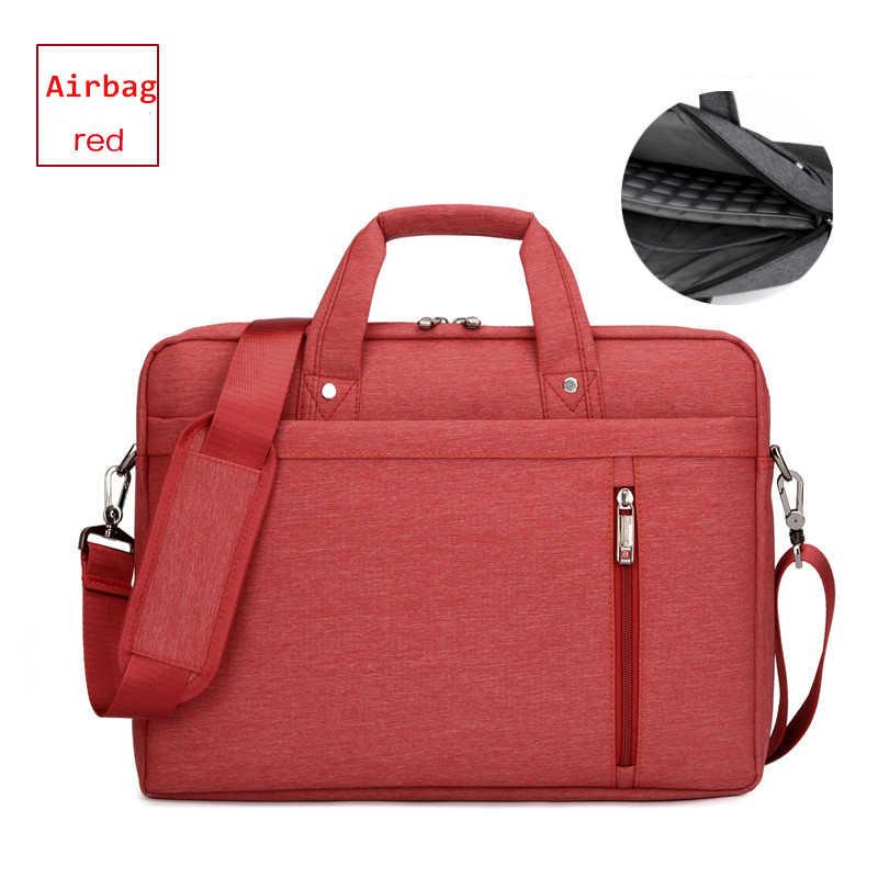 Marque sac étanche pour ordinateur portable 17.3 17 15.6 15 14 13.3 13 pouces épaule portable messager femmes ordinateur portable sac pour macbook airbag