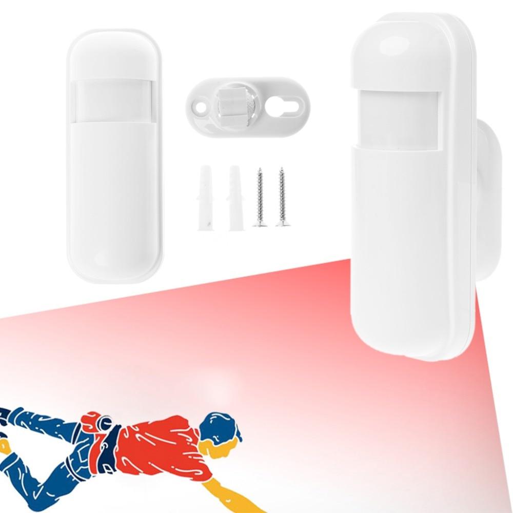 White Wireless Smart Infrared Motion Detector Alarm Barrier Sensor for Home Door Room Security Alarm System White Wireless Smart Infrared Motion Detector Alarm Barrier Sensor for Home Door Room Security Alarm System