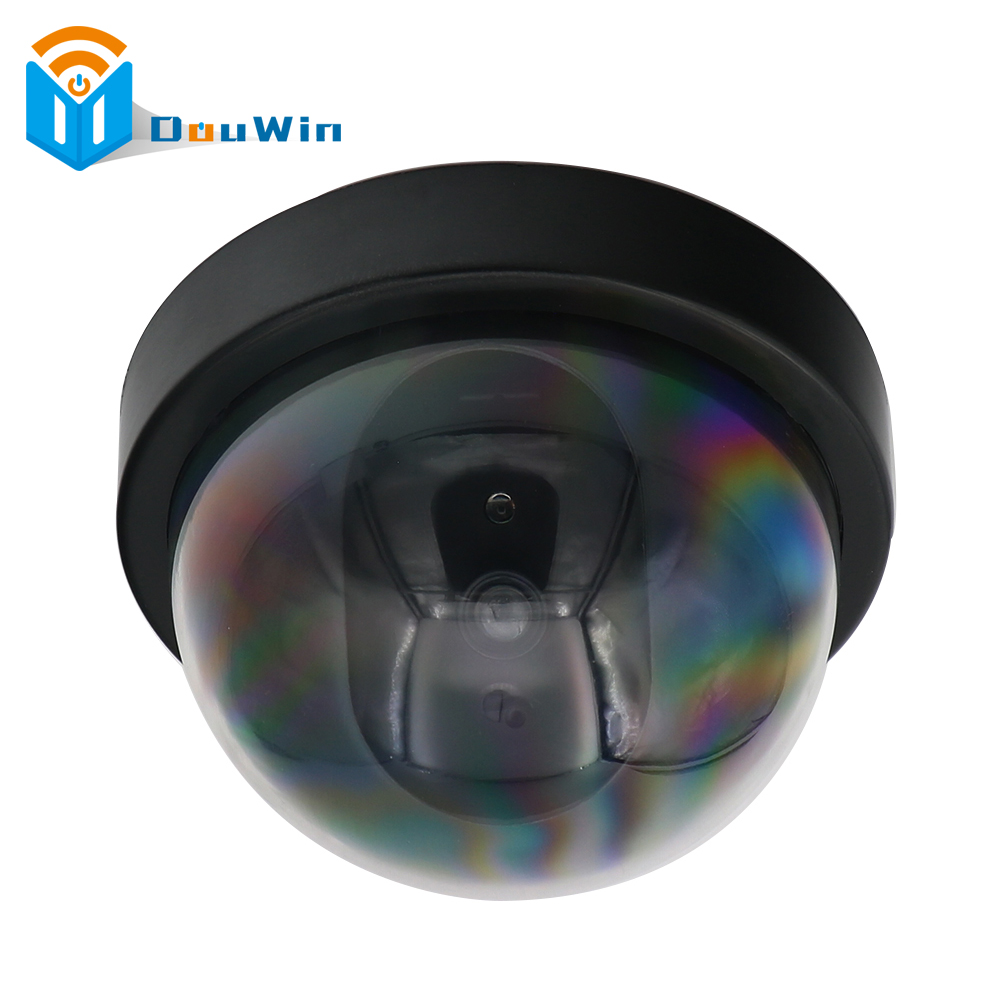 DUMMY Camera CCTV Outdoor Dome Security Camera Imitation Dome Security Camera Fake With LED flash Light IMITATION Fake Camera hot sale outdoor waterproof red led fake dummy ptz speed dome cctv security camera blinking flashing light