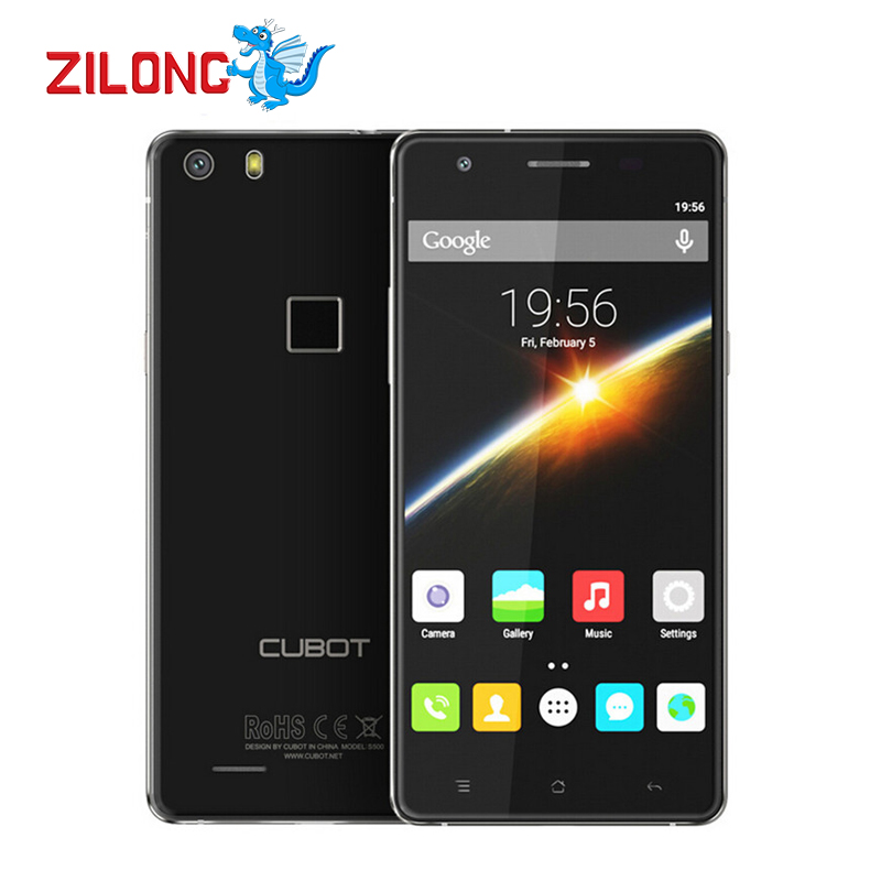 Original Cubot S500 4G 5 0 720P IPS Smartphone MTK6735A Quad Core Android 5 1 2GB