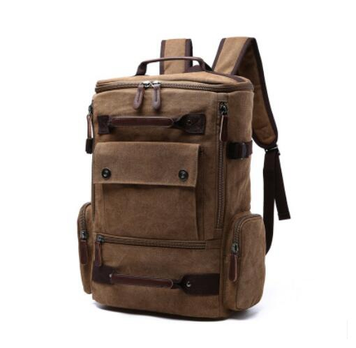 Men canvas backpack man Rucksack  travel Luggage backpack Bag for Men Laptop Mochilas Male Multi Function Backpack For TeenagersMen canvas backpack man Rucksack  travel Luggage backpack Bag for Men Laptop Mochilas Male Multi Function Backpack For Teenagers