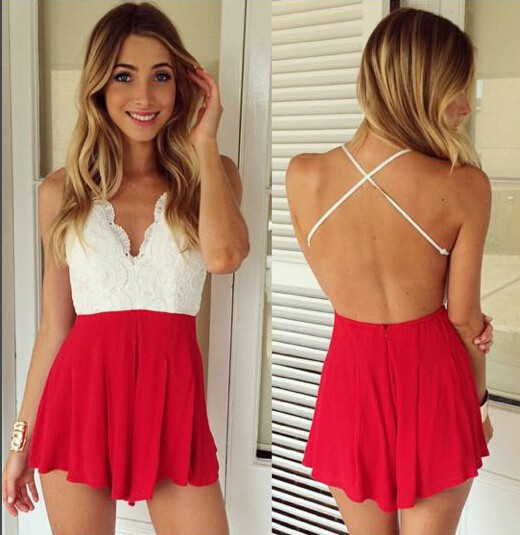 Short Backless Dresses