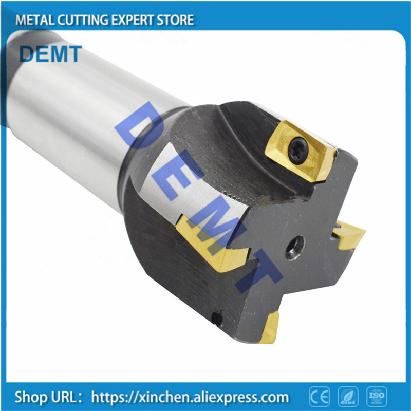 BA400R MT4 MTB4 integral end mill 30mm 32mm 36mm 40mm 45mm 50mm insert APMT1604PDER 10pcs mechanical