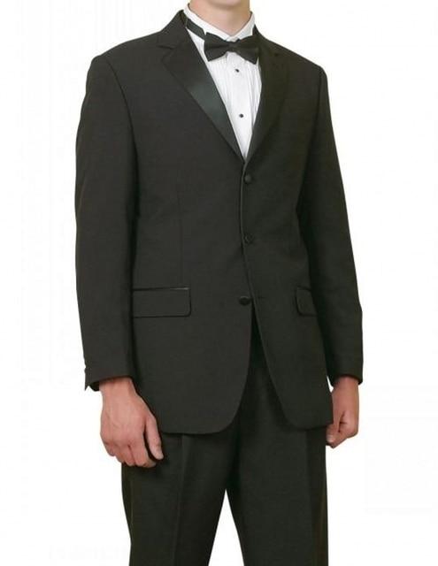 2017 Por Encargo de Los Hombres de Los Trajes Esmoquin Novio Trajes de Boda de Los Hombres 2 Unidades Trajes Chaqueta Trajes de Negocios Formales Vestidos Para Ocasiones Especiales