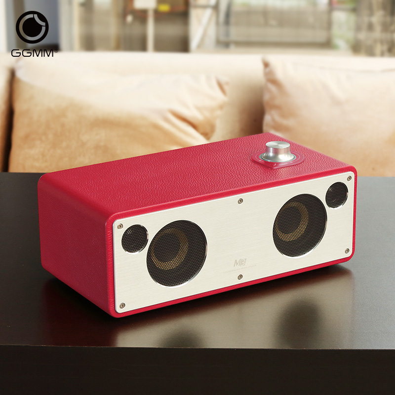 Portable Speakers Wireless Audio Wooden Stereo Subwoofer Wifi Speaker Music Bluetooth Speaker Big Power 20W*2 Top Quality