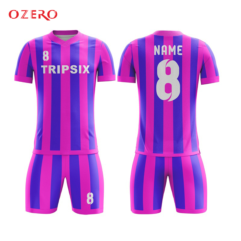fc98cb89806 custom design professional yellow blue polyester striped soccer jersey  manufacturer-in Soccer Jerseys from Sports   Entertainment on  Aliexpress.com ...