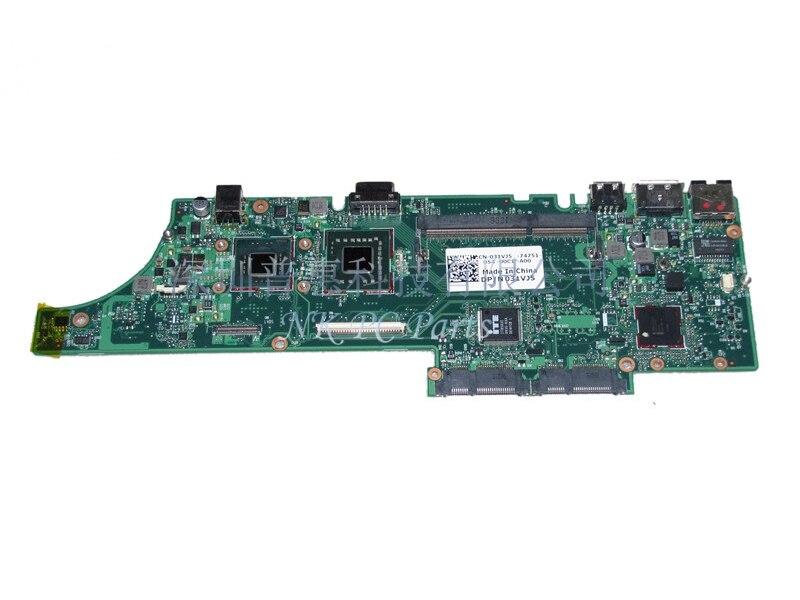 NEW CN-031VJ5 31VJ5 Main board For Dell vostro V13 Laptop Motherboard SLB92 GMA X4500 DDR3 SU7300 CPU