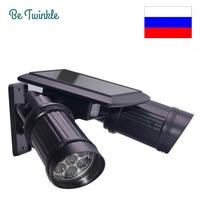 Solar Garden PIR Motion Sensor Light 14 LED Spotlights Solar Powered Led Street Lights Outdoor Security