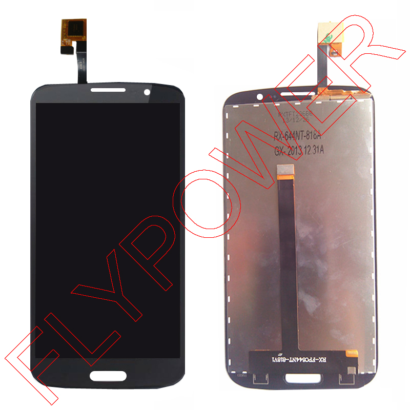 For star Ulefone U650 LCD Display + Digitizer Touch Screen Glass Assembly by Free shipping; Black; 100% Warranty