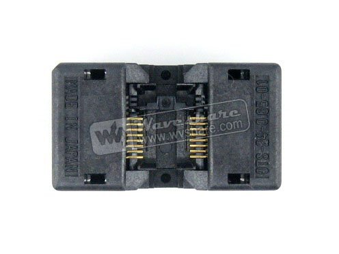 SSOP16 TSSOP16 OTS-16(24)-0.65-01 Enplas IC Test Burn-in Socket Programming Adapter 0.65mm Pitch 4.4mm Width module so32 soic32 sop32 to dip32 a 652d032221x wells ic programming adapter test burn in socket 1 27mm pitch 7 55mm width