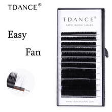 91fd2bc2530 TDANCE Volume Eyelash Extensions self Fast Fan Individual Lashes Rapid  Automatic