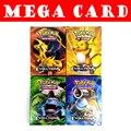 18 36 cartões de Pokemon Mega Pçs/set Todas As Brilhantes Sem Repetição de Cartões De Pokemon Mega Jogo Inglês Brinquedos Para As Crianças Presentes