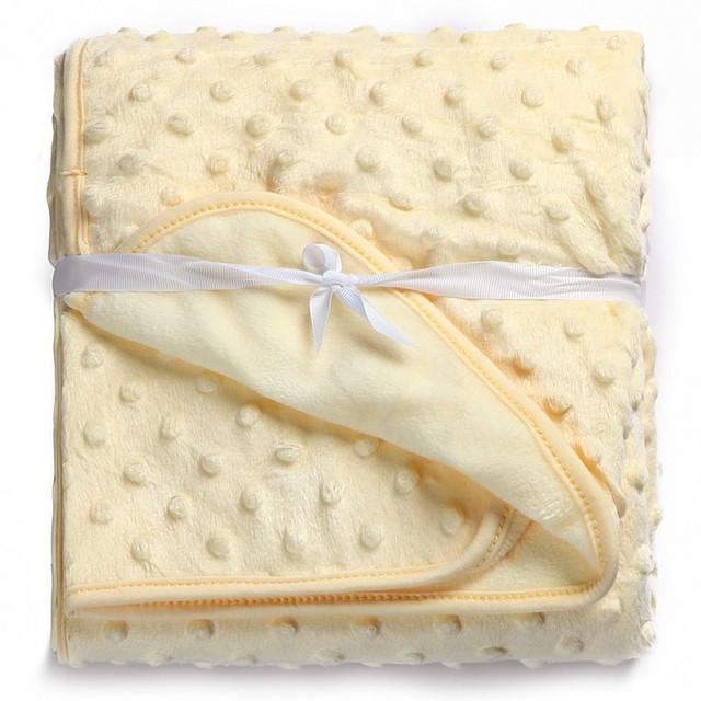 2018 Newborn Baby Sleeping Blanket Fleece Blanket & Swaddling Bedding Set Infant products 100X76cm