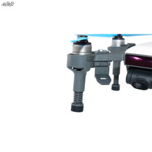 35mm Heighten Landing Gear Shock absorption Legs Protection gimbal for For DJI Spark Drone Accessories gray