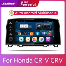 ZaiXi Car Android System 1080P IPS LCD Screen For Honda CR-V CRV 2017-2019 Car Radio Player GPS Navigation BT WiFi AUX цена