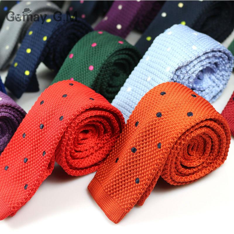 Corbatas finas tejidas de punto para hombres nuevos Corbatas de - Accesorios para la ropa - foto 2