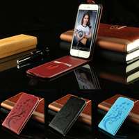 Flip PU Leather case for Motorola Moto E4 Plus Embossed Luxury Case with TPU Soft Cover