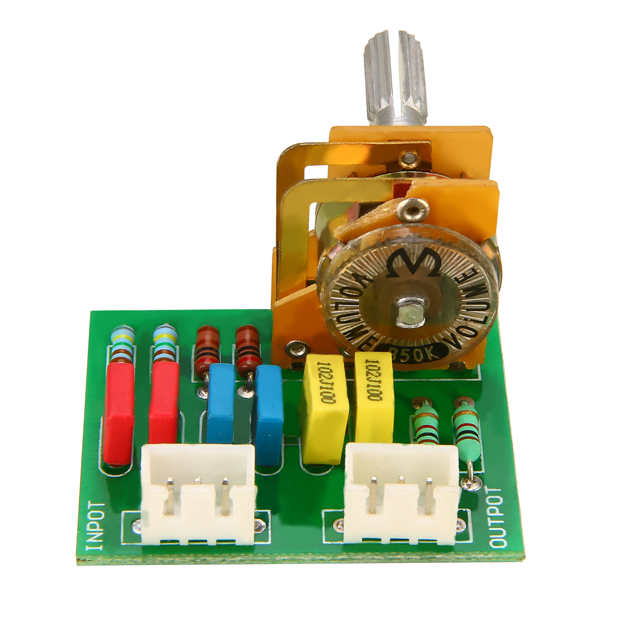16 Type 50k 8 Pin Amplifier Preamp Passive Tone Board High Quality Control Circuit Volume Sound Adjustable Module Mayitr In From Consumer Electronics On