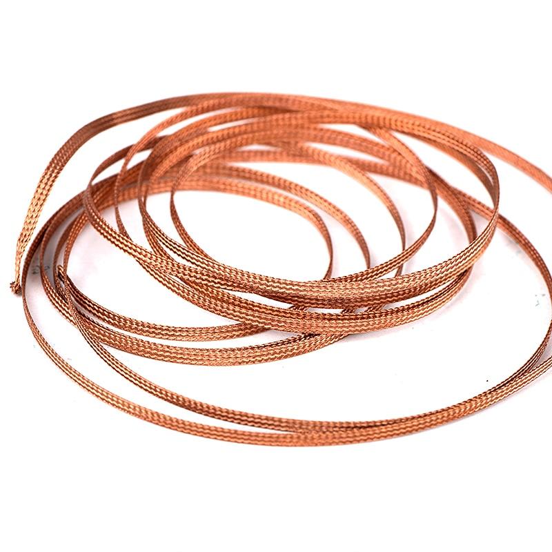 JCD soldering wick wire 2.0MM Width 1.5 Meter length Desoldering Braid Welding Solder Repair work tools Lead Tin wires Cord Flux(China)