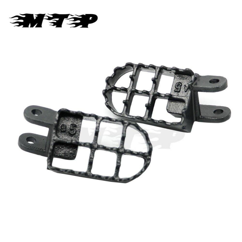 US $25 89 |Aliexpress com : Buy Steel Foot Pegs Footpeg Footrests for Honda  CR80 XR250 XR350R XR400 XR600R XR650R XR650L Motorcycle Dirt Bikes Foot