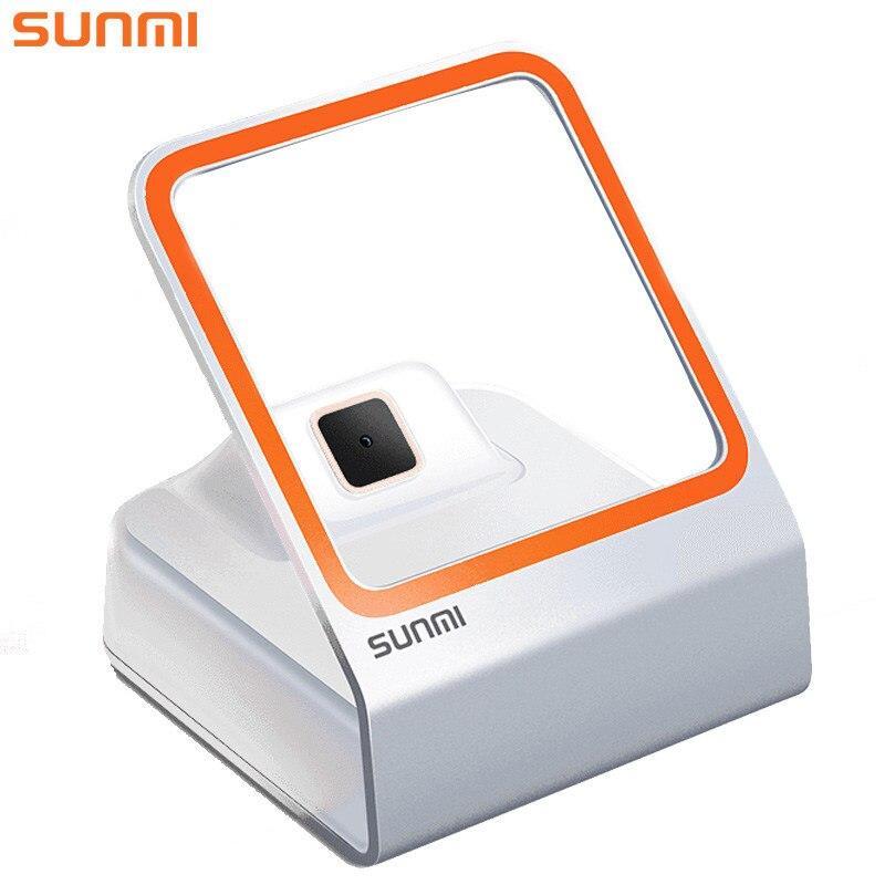 Lecteur de codes à barres automatique QR SUNMI 1D/2D lecteur de codes à barres pour le paiement Mobile lecteur de codes à barres prend en charge Windows Linux
