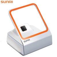 SUNMI Auto QR Barcode Scanner 1D/2D Bar code Reader For Mobile Payment Bar Code Reader Support Windows Linux