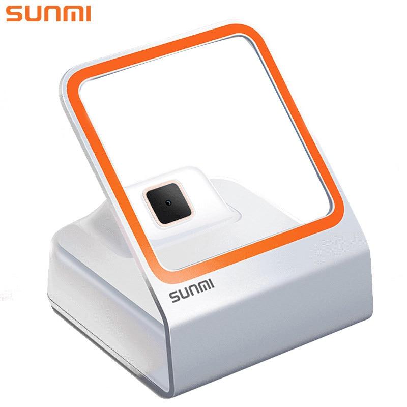 SUNMI Auto Scanner de Código De Barras QR 1D/2D Leitor de Código de Barras Leitor de código de Barras Para Pagamento Móvel Suporte Windows Linux