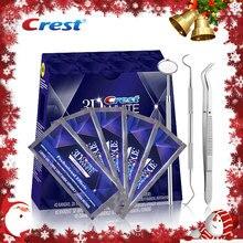 NO BOXES 10 Pouches ( 20 полосы ) крест 3D белый люкс профессиональные эффект гигиены полости рта отбеливание зубов Whitestrips отбеливание зубов