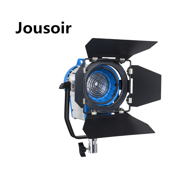 Fresnel Tungsten 1000W Light+Bulb+Barndoor For Photographic Equipment Studio Video Light For Camera Compatible CD50
