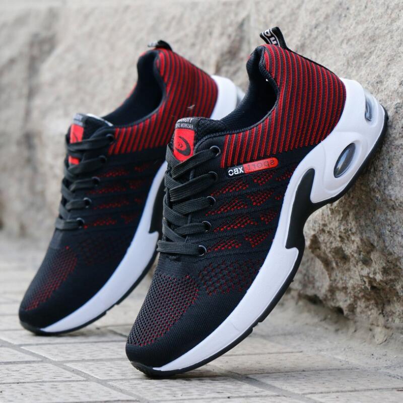 Homem sapatos casuais sapatos de moda respirável homem sapatos tenis masculino sapatos zapatos hombre sapatos ao ar livre 39-44