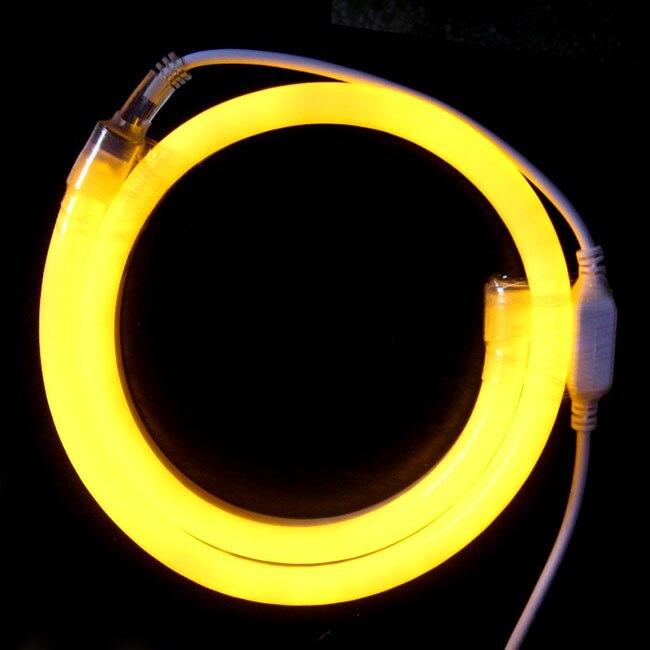 164feet (50meter) AC 110V 11*18mm Flexible LED Neon Tube Waterproof Outdoor Neon Lighting IP67 Waterproof Neon Sign