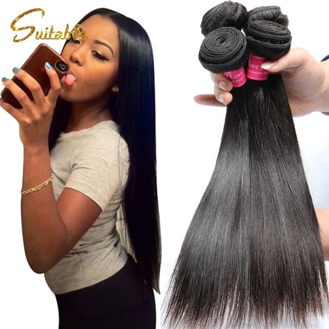 7a Virgin Hair Weave Filipino Virgin Hair Straight Cheap Unprocessed