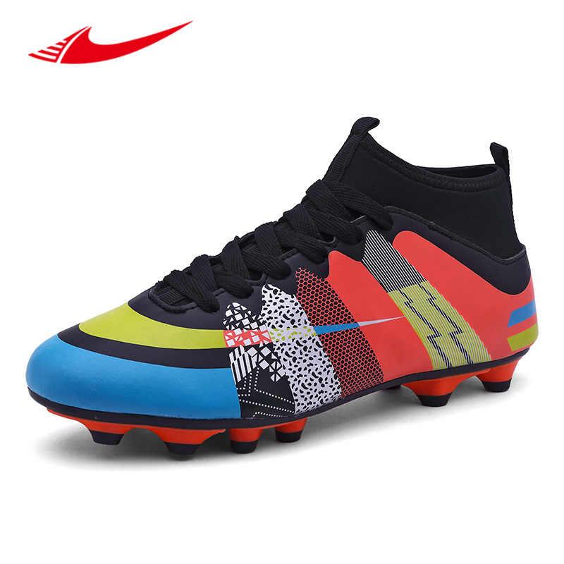 234cec1c Beita мужские футбольные бутсы с длинными шипами газон кроссовки спортивные  Бутсы футбольная обувь нескользящие мужские кроссовки